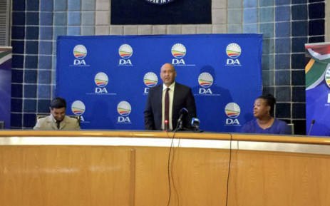 The DA in Gauteng today announced Ghaleb Cachalia, son of struggle stalwarts Amina and Yusuf Cachalia, as it's mayoral candidate in Ekurhuleni. Picture: Emily Corke/EWN
