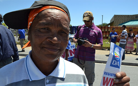 A voter visits a registration station in Philippi on 9 November 2013. Picture: Renee de Villiers/EWN