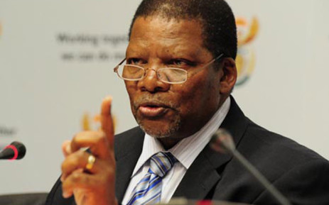FILE: Gugile Nkwinti, Water and Sanitation Minister. Picture: GCIS