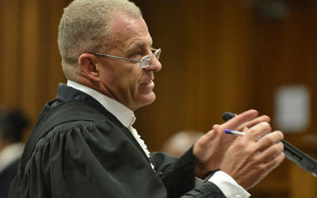 FILE: The National Prosecuting Authority's Gerrie Nel at the Pretoria High Court during the Oscar Pistorius hearing on 13 June 2016. Picture: Pool