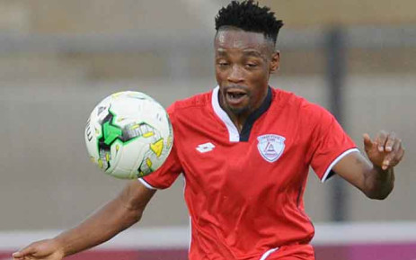 Free State Stars winger Sinethemba Jantjie. Picture: @FreeStateStars/Twitter