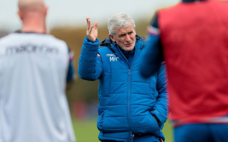 Stoke City manager Mark Hughes. Picture: @stokecity/Twitter.
