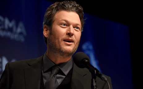 FILE: Blake Shelton speaks in the press room with his award for Male Vocalist of the Year at the 48th annual CMA Awards at the Bridgestone Arena on 5 November 2014 in Nashville, Tennessee. Picture: AFP