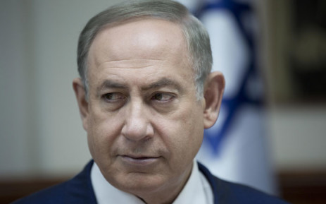 FILE: Israeli Prime Minister Benjamin Netanyahu chairs the weekly cabinet meeting in Jerusalem on 29 January 2017. Picture: AFP.