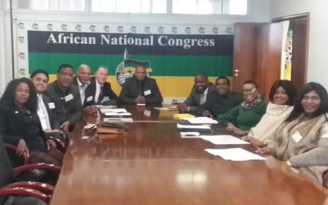 Cameron Dugmore (back, left) will lead the African National Congress members in the Western Cape legislature. Picture: @ANCWesternCape_/Twitter