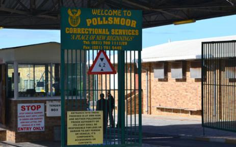 FILE: Pollsmoor prison gate. Picture: Supplied