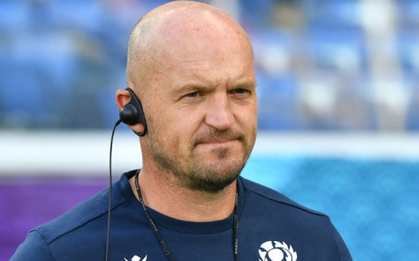 Scotland's head coach Gregor Townsend takes part a training session at International Stadium Yokohama in Kanagawa Prefecture on 20 September 2019, ahead of the Japan 2019 Rugby World Cup. Picture: AFP