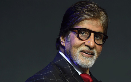 Bollywood actor Amitabh Bachchan looks on during a commercial event in Mumbai on 17 May 2018. Picture: AFP