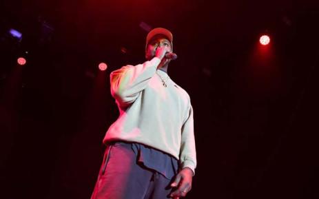 FILE: Kanye West. Picture: AFP.