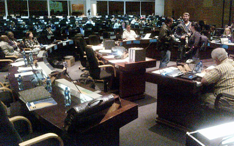 The Arms Deal Commission of Inquiry is being held at the Sammy Marks Conference Centre in Pretoria. Picture: EWN.