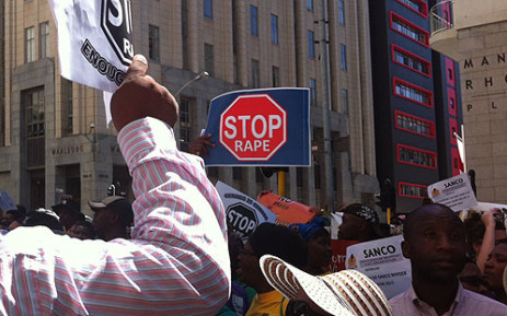 The ANC has called on all South African men to unite and fight the rape scourge.