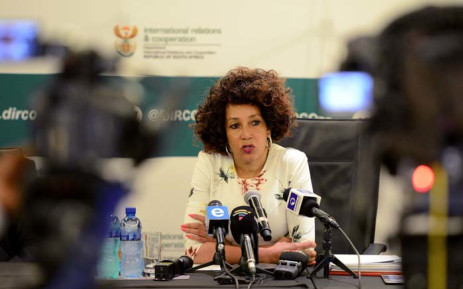 FILE: Minister of International Relations and Cooperation Lindiwe Sisulu. Picture: GCIS