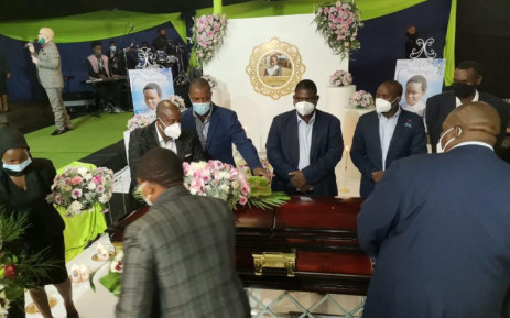 The funeral service of Lufuno Mavhunga, who died by suicide after a video of her being bullied went viral, was held in Limpopo on Saturday, 17 April 2021. Picture: Twitter/@edu_limp