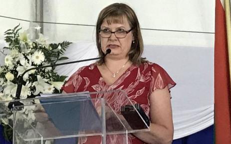Western Cape Education MEC Debbie Schafer. Picture: @DebbieSchafer/Twitter