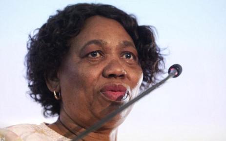 FILE: Basic Education Minister Angie Motshekga. Picture: Kayleen Morgan/EWN