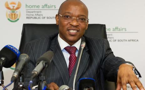 Home Affairs Director-General Mkuseli Apleni. Picture: GCIS.