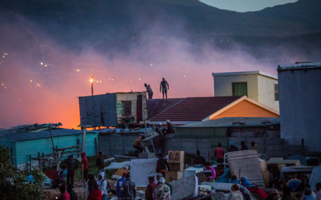 FILE: Masiphumelele residents have started rebuilding their homes that were gutted by the fire. Picture: chrispreenphotography.com