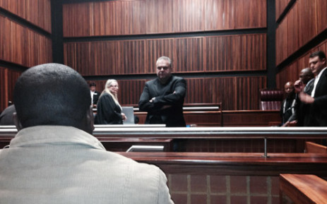 Czech fugitive Radovan Krejcir in the Palm Ridge Magistrates Court on 13 May 2014. Picture: Sebabatso Mosamo/EWN.