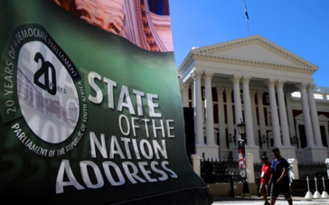 FILE: Preparations underway for the State of the Nation Address. Picture: GCIS