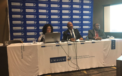 FILE: Umalusi representatives brief the media on its readiness for the 2017 matric exams. Picture: EWN