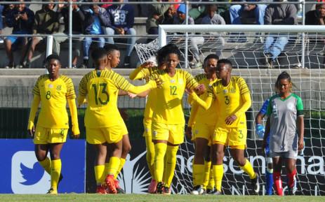Banyana Banyana won 2-1 winners over Madagascar in their opening match of the 2018 Cosafa Women's Championship. Picture: @Banyana_Banyana/Twitter