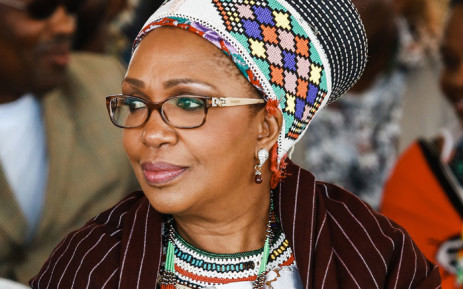 FILE: In this file photo taken on 22 September 2013, Zulu Queen Mantfombi Dlamini Zulu attends the festival of ' Zulu 200' celebrating the existence of the Zulu Nation at the King Shaka International airport in Durban. Picture: AFP