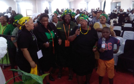 Speaking at the launch of the Brethren Mission Church, ANC Women's League Pres Bathabile Dlamini says Nkosazana Dlamini Zuma has had a great impact on the AU AND will do even more for SA. Picture: Victor Magwedze/EWN
