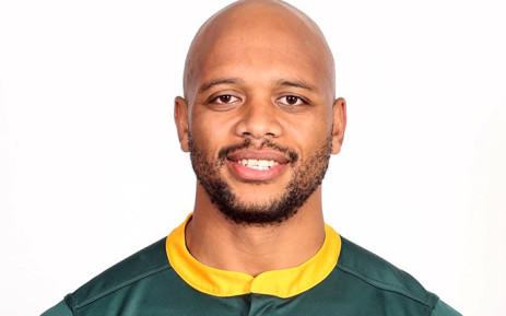 Lionel Mapoe will join the Springbok training squad in Stellenbosch as injury cover for Lukhanyo Am. Picture: @Springboks/Twitter.