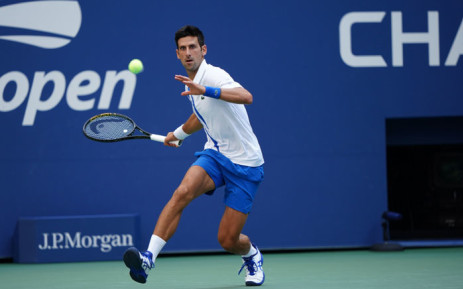 FILE: Novak Djokovic in action. Picture: @usopen/Twitter