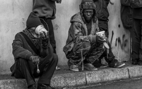 A scene from the documentary 'Beg to Differ' by John Warner shows young and old alike on the streets of Somerset West. Picture: Supplied.