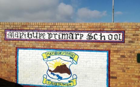 Mayibuye Primary School in Tembisa, Ekurhuleni. Picture: @HermanMashaba/Twitter