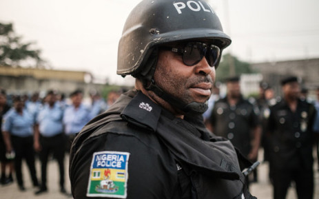 FILE: A Nigerian police officer. Picture: AFP