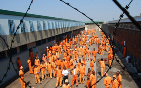 FILE: Offenders at Leeuwkop Prison. Picture: EWN.