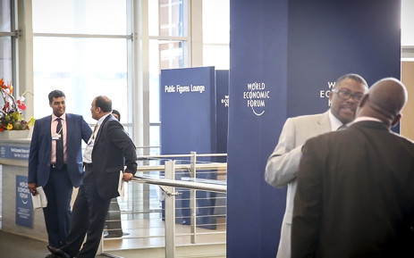 Delegates meet at the World Economic Forum 2015 at the Cape Town International Convention Centre. Picture: Thomas Holder/EWN
