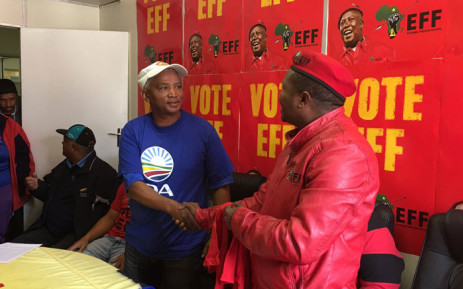 The EFF leadership claims it has recruited at least 2, 000 new members recently and the numbers are growing. Picture: Giovanna Gerbi/EWN