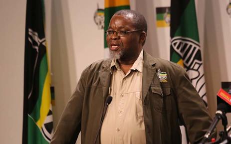 FILE: ANC secretary general Gwede Mantashe. Picture: Christa Eybers/EWN.