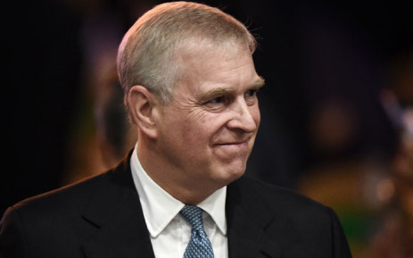 FILE: In this file photo taken on 3 November 2019, Britain's Prince Andrew, Duke of York leaves after speaking at the ASEAN Business and Investment Summit in Bangkok, on the sidelines of the 35th Association of Southeast Asian Nations (ASEAN) Summit.  Picture: AFP