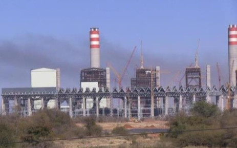 Smoke rising from the Medupi power plant. Picture: Eskom.