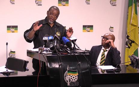 FILE: ANC Secretary General Gwede Mantashe. Picture: Vumani Mkhize/EWN.