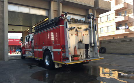 FILE: A fire truck at a Johannesburg fire station Picture: EWN