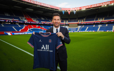 Argentina's Lionel Messi has joined Paris Saint-Germain on a two-year contract. Picture: @PSG_English/Twitter