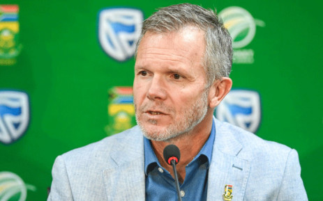 FILE: Proteas general manager of cricket Corrie van Zyl gives a press conference at Cricket South Africa Head office in Johannesburg, on August 15, 2019. Picture: AFP