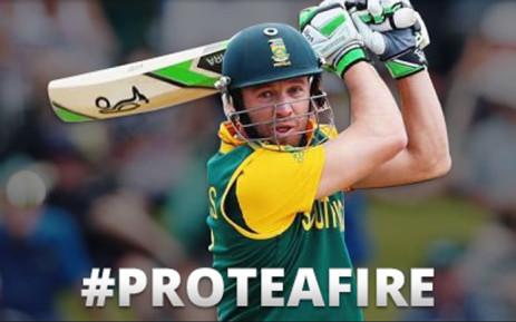 Proteas captain AB de Villiers. Picture: EWN