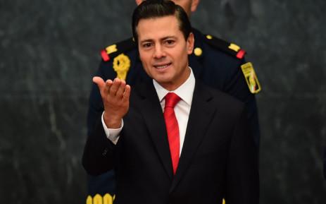 FILE: Mexico's President Enrique Pena Nieto. Picture: AFP