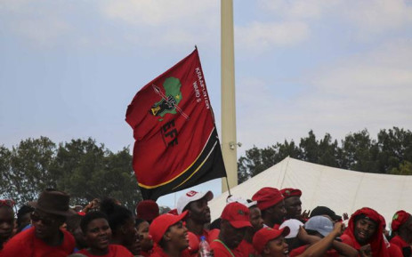 Thousands of EFF supporters gather at the Philippi Stadium near Cape Town on 30 March 2019 for the party's Western Cape manifesto rally. Picture: Cindy Archillies/EWN
