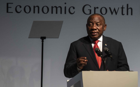 FILE: President Cyril Ramaphosa at the 2018 South Africa Investment Conference in Sandton International Convention Centre. Picture: Abigail Javier/EWN