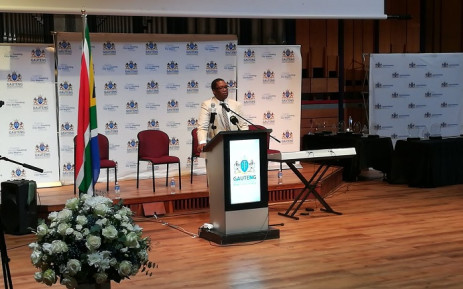 Gauteng MEC for Education Panyaza Lesufi at a matrics 2018 breakfast briefing. Picture: EducationGP/Twitter