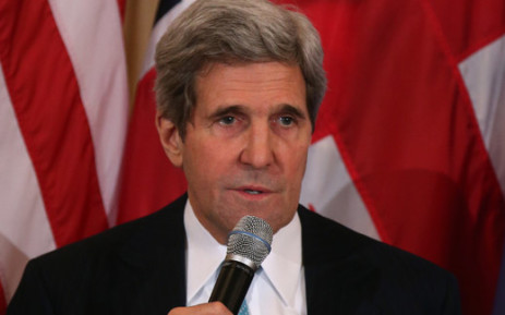 US Secretary of State John Kerry. Picture: AFP.