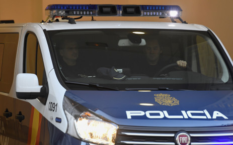 FILE: A Spanish police vehicle. Picture: AFP