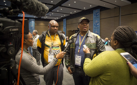 The ANC's mayoral candidate for Cape Town speaks to journalists at the IEC's regional results centre on 4 August 2016. Picture: Aletta Harrison/EWN